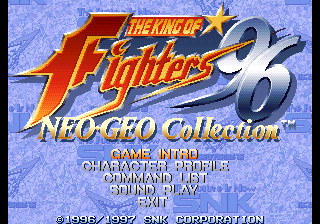KOF 96 Collection