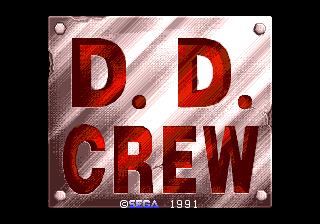 DD Crew (Japan 4 player)