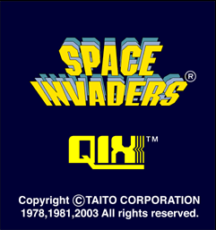 Space Invaders / Qix Anniversary