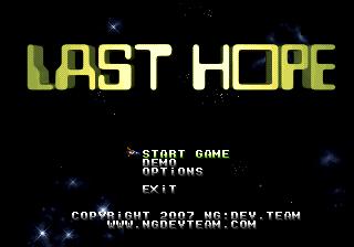 NeoCD Last Hope