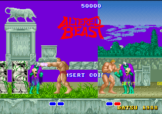 Altered Beast bootleg
