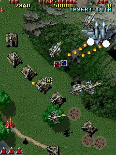 Raiden II on DX hardware