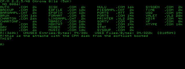 Attache Software List