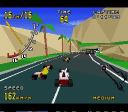 Virtua Racing Genesis