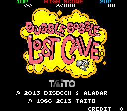 Bubble Bobble Lost Cave