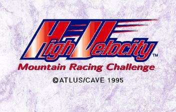 High Velocity Mountain Racing Challenge