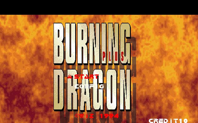 Burning Dragon Plus PC9801