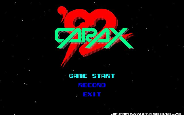 Carax 92 PC9801
