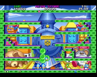 Bubble Bobble II (playstation prototype)