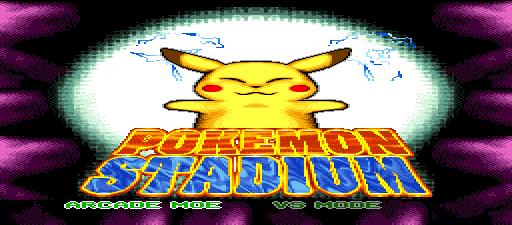 Pokemon Stadium SNES