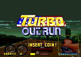 Turbo Outrun Japan