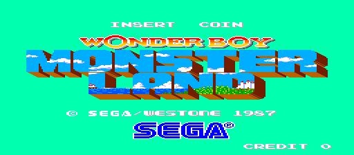 Wonderboy Monster Land modern bootleg