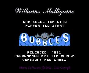 Williams Multi Game