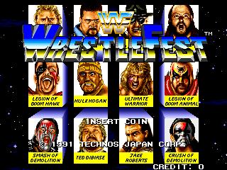 WWF Wrestlefest (Korea)
