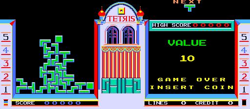 Tetris - with Cherry Master