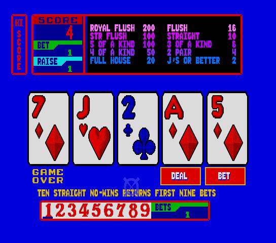 Merit Touch Joker Poker (9132-00)