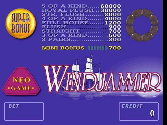 Neo-Game Windjammer