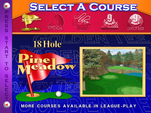 Golden Tee Fore! 2002