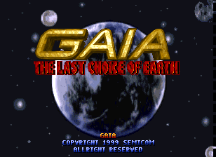 Gaia - The Last Choice of Earth