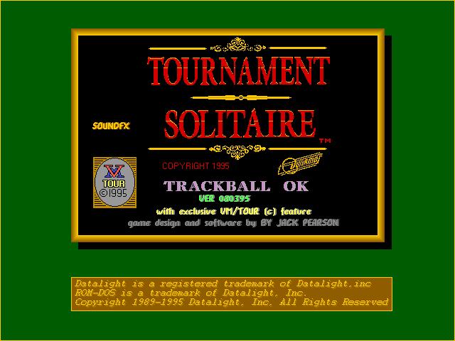 Tournament Solitaire