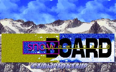 Snow Board Championship