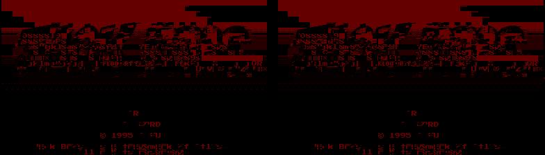 MESS W.I.P. - Virtual Boy