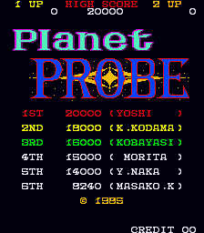 Planet Probe