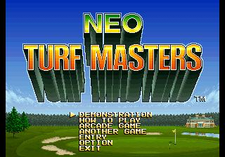 Neo Turf Masters CD