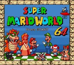 Genesis Super Mario World 64