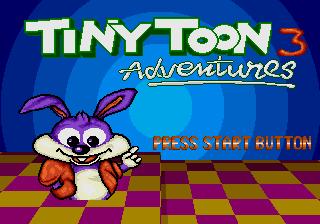 Genesis Tiny Toons 3