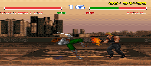 SNES Tekken 2