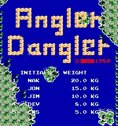 Angler Dangler (Deco Cassette System)