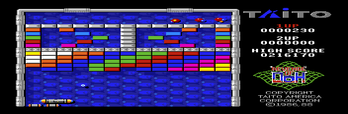 Arkanoid 2 Apple 2 GS