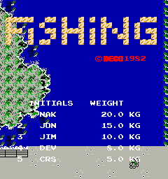 Fishing (Deco Cassette System)
