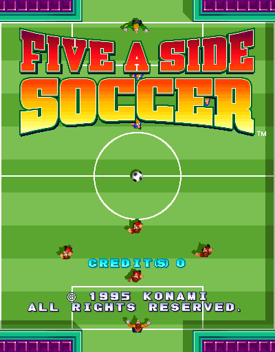 Five-A-Side Soccer