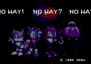 Sonic & Knuckes with any other game