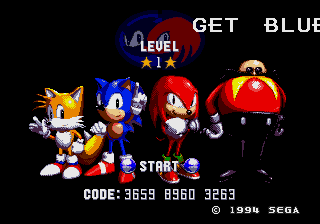 Sonic & Knuckles with Sonic 1