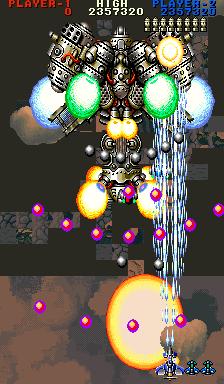 Thunder Dragon 2 emulation glitch