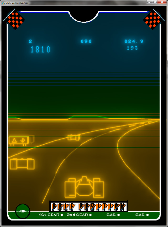 Vectrex Pole Position