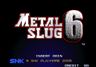 Metal Slug 6 (bootleg of Metal Slug 3)