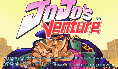 JoJo's Venture