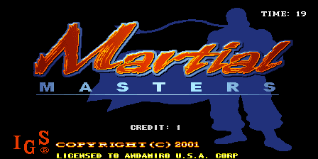 Martial Masters