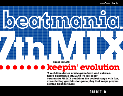beatmania 7th MIX