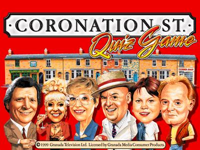 Coronation Street Quiz