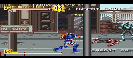 Sonic Blast Man II Turbo