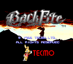 Back Fire (Tecmo)