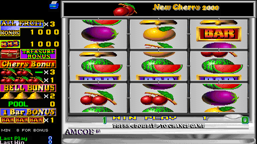 Fruit Bonus 2000  New Cherry 2000