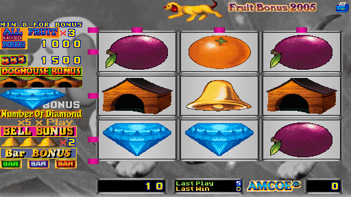 Fruit Bonus 2005