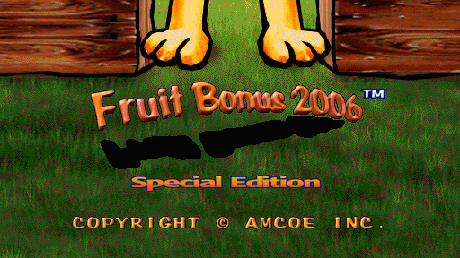 Fruit Bonus 2006 Special Edition