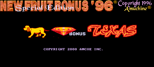 New Fruit Bonus '96 Texas